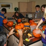Thursday 25th Oct - Explorers + Pumpkins = Mess!