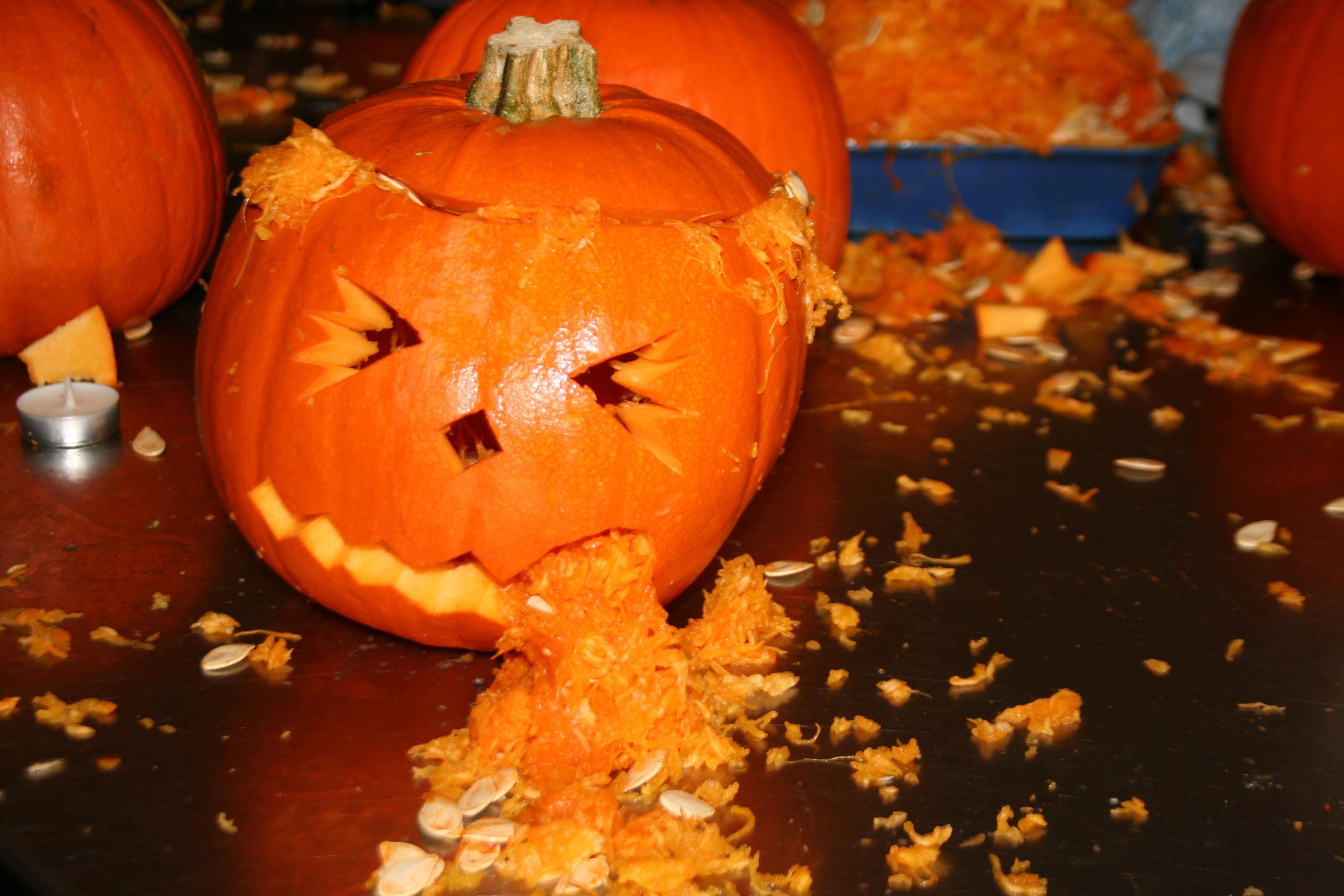 Thursday 25th Oct - Pu**ng Pumpkin